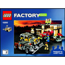 LEGO Custom Car Garage Set 10200 Instructions