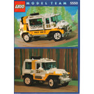 LEGO Custom Rally Van Set 5550 Instructions