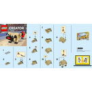 LEGO Cute Pug Set 30542 Instructions