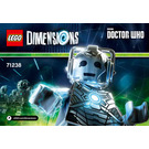 LEGO Cyberman Fun Pack Set 71238 Instructions