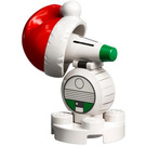 LEGO D-O with Santa Hat Minifigure