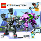LEGO D.Va & Reinhardt Set 75973 Instructions