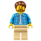 LEGO Dad with Beard Minifigure