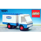 LEGO Danone Delivery Truck Set 1591-1