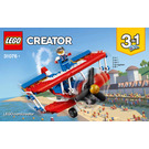 LEGO Daredevil Stunt Plane Set 31076 Instructions