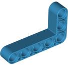 LEGO Dark Azure Beam Bent 90 degrees, 3 and 5 Holes (32526)