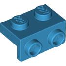LEGO Dark Azure Bracket 1 x 2 - 1 x 2 (99781)