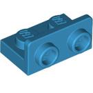 LEGO Dark Azure Bracket 1 x 2 - 1 x 2 Up (99780)