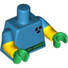 LEGO Milhouse as Fallout Boy Minifig Torso (973 / 16360)