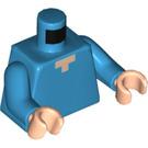 LEGO Dark Azure Minifig Torso (76382)