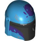 LEGO Dark Azure Minifigure Helmet (66548)