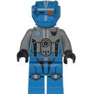LEGO Dark Azure Robot Sidekick Minifigure