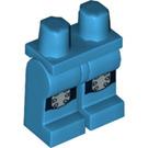 LEGO Dark Azure Roller Derby Girl Legs (12632)