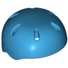 LEGO Dark Azure Sports Helmet with Vent Holes (46303)