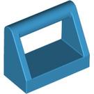 LEGO Dark Azure Tile 1 x 2 with Handle (2432)