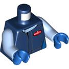 LEGO Dark Blue Bugatti Chiron Driver Minifig Torso (76382)