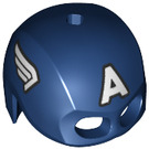 LEGO Dark Blue Captain Americas Helmet (45779 / 69460)