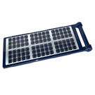 LEGO Dark Blue Flag 7 x 3 with Rod with Solar panel Sticker