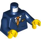 LEGO Dark Blue Flight Attendant Minifig Torso (76382)