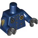 LEGO Dark Blue GCPD Minifig Torso (76382 / 88585)