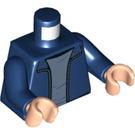 LEGO Dark Blue Harry Potter Minifig Torso (76382)