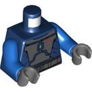 LEGO Dark Blue Mandalorian Torso (76382)