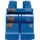 LEGO Dark Blue Minifigure Hips and Legs with Decoration