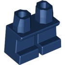 LEGO Dark Blue Minifigure Short Legs (41879)