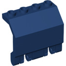 LEGO Dark Blue Panel 2 x 4 x 2 with Hinges (44572)