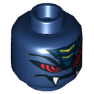LEGO Dark Blue Rattla Head (Safety Stud) (11063 / 98715)