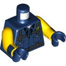 LEGO Dark Blue Rex Dangervest Minifig Torso (76382)