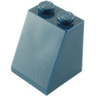 LEGO Dark Blue Slope 65° 2 x 2 x 2 with Centre Tube (3678)