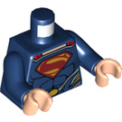 LEGO Superman with Dark Blue Suit Torso (76382)