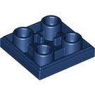 LEGO Dark Blue Tile 2 x 2 Inverted (11203)