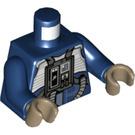LEGO Dark Blue U-Wing Pilot Minifig Torso (76382)