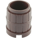 LEGO Dark Brown Barrel 2 x 2 x 1.667 (2489 / 26170)
