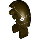 LEGO Dark Brown Commando Droid Head (70250)