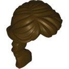 LEGO Dark Brown Long French Braided Ponytail (88286)