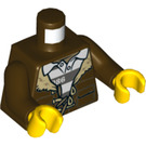 LEGO Dark Brown Minifig Torso (76382)
