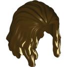 LEGO Dark Brown Minifigure Hair (34866)