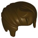 """LEGO Dark Brown """"Rocker Style"""" Hair with Quiff (98371)"""