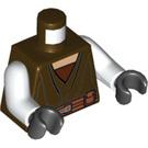 LEGO Dark Brown Saesee Tiin Torso (76382)
