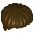 LEGO Dark Brown Short Bowl Cut Hair (40240)