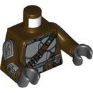 LEGO Dark Brown The Mandalorian Minifig Torso (76382)