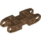 LEGO Dark Flesh Double Ball Connector 5 with Vents (47296)
