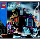 LEGO Dark Fortress Landing Set 8802 Instructions
