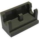 LEGO Dark Gray Hinge 1 x 2 Base (3937)