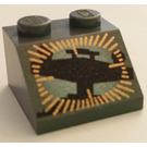 LEGO Dark Gray Slope 2 x 2 (45°) with Star Destroyer Bridge (83989)