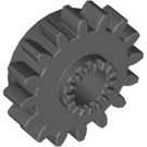 LEGO Dark Gray Technic Gear 16 Tooth with Clutch (with Teeth around Hole) (6542)