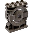 LEGO Dark Gray Turbine 2 x 4 x 4 (30535)